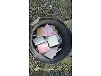 """USED RECLAIMED KITCHEN/BATHROOM TILES (EACH TILE 4"""" SQUARE APPROX)"""