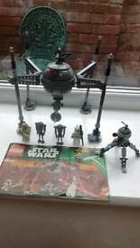 Lego Homing Spider Droid and figures