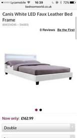 Led double bed