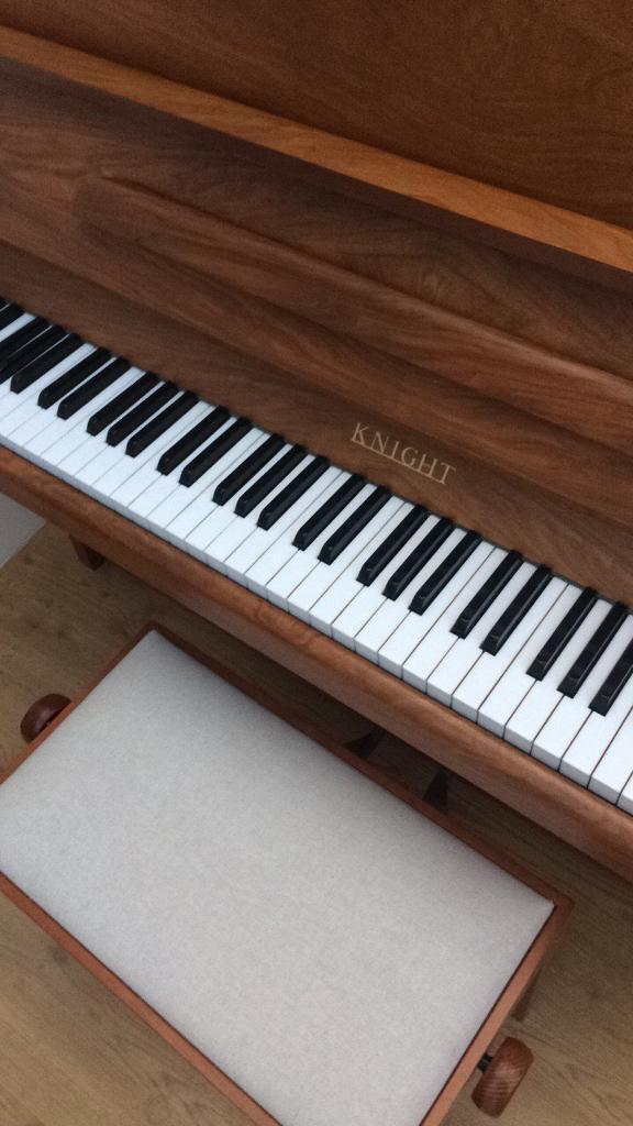 Knight Upright Piano K10 Walnut In Norwich Norfolk