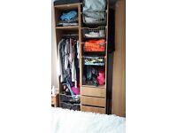 Ikea tall wardrobes