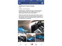 Vauxhall astra 1.8 convertible