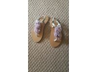 Brand new girls accessorize sandles size 11