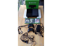 Xbox one 500gb great condition with 2 genuine controllers & 3 games
