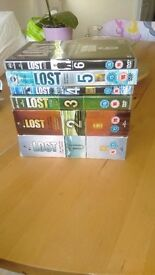 Lost series 1-6 complete box set