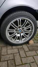 Bmw E46 m sport alloys 5x120 18""