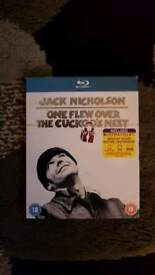 ONE FLEW OVER THE CUCKOO'S NEST BLU RAY DVD NEW