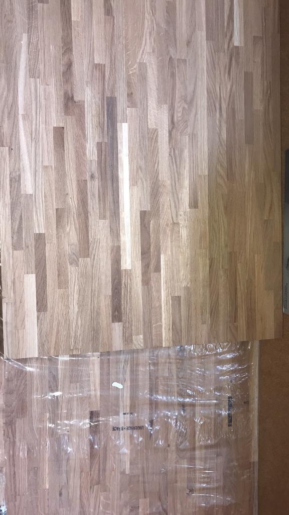huge discount 5b695 83f62 2x Wickes Solid Wood Worktop Solid Oak | in Mickleover, Derbyshire | Gumtree