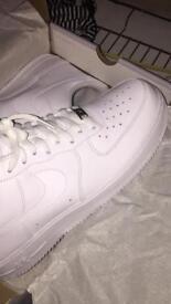 White Air Force 1 white size 10