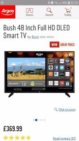 48 inch bush led smart tv with wifi ******BRAND NEW*****