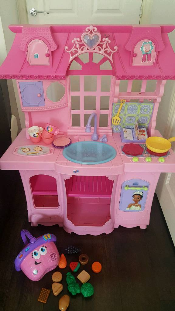 Princess Kitchen , leapfrog basket and accessories
