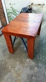Rustic Indoor or outdoor table