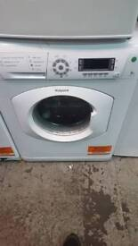 New graded Hotpoint 8kg washing machine with 6 months guarantee