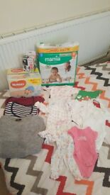 Kids baby stuff for sale...7 x packets huggies wipes