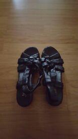 Black Lady's Sandals