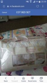 Mother care cot bed set