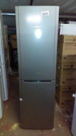 HOTPOINT silver 55cm fridge freezer new ex display