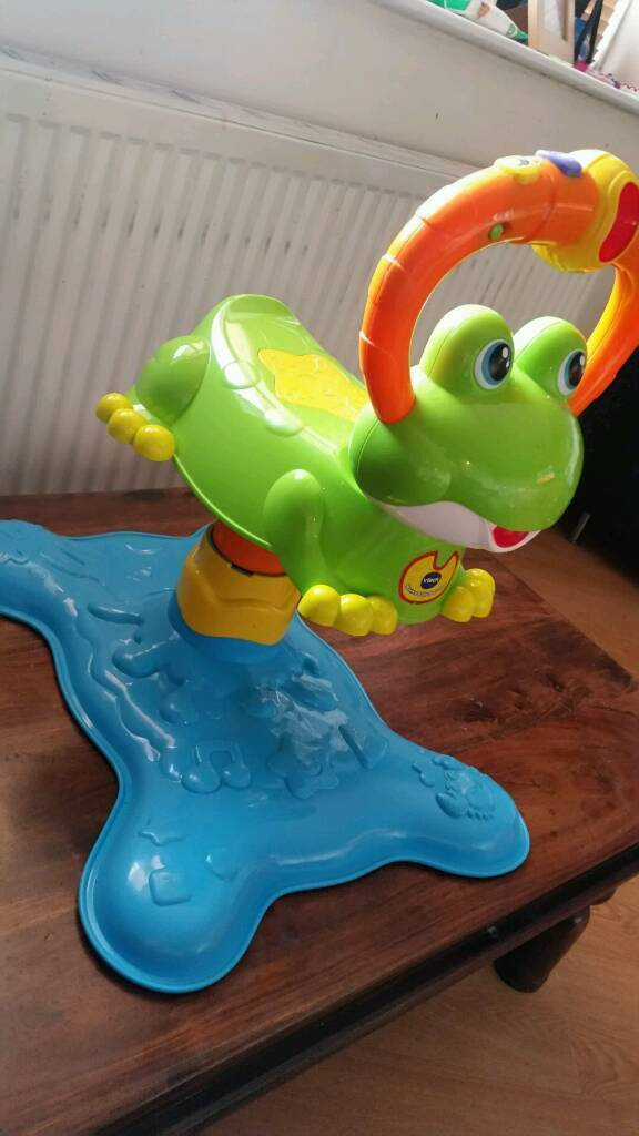 Vtech bounce and descover frog