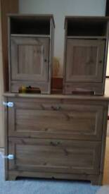 Chest of Drawers & matching Bedside Cabinets