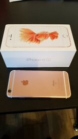 iPhone 6s Rose Gold UNLOCKED on all networks ORIGINAL Box & Charger