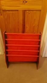Childrens cars bookcase
