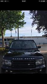 Black Range Rover Sport 2.7 TDV6 HSE Model Top Of The Range