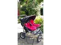 3 wheeler Out and About Double Buggy