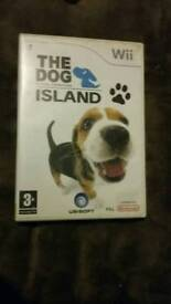 Wii game - Dog Island