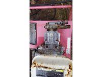 Petrol pressure washer gpw300