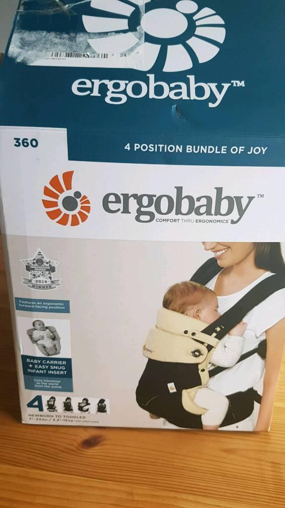 138b9c47677 Ergobaby 360 bundle of joy baby  toddler carrier