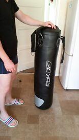 Reebok punching boxing bag