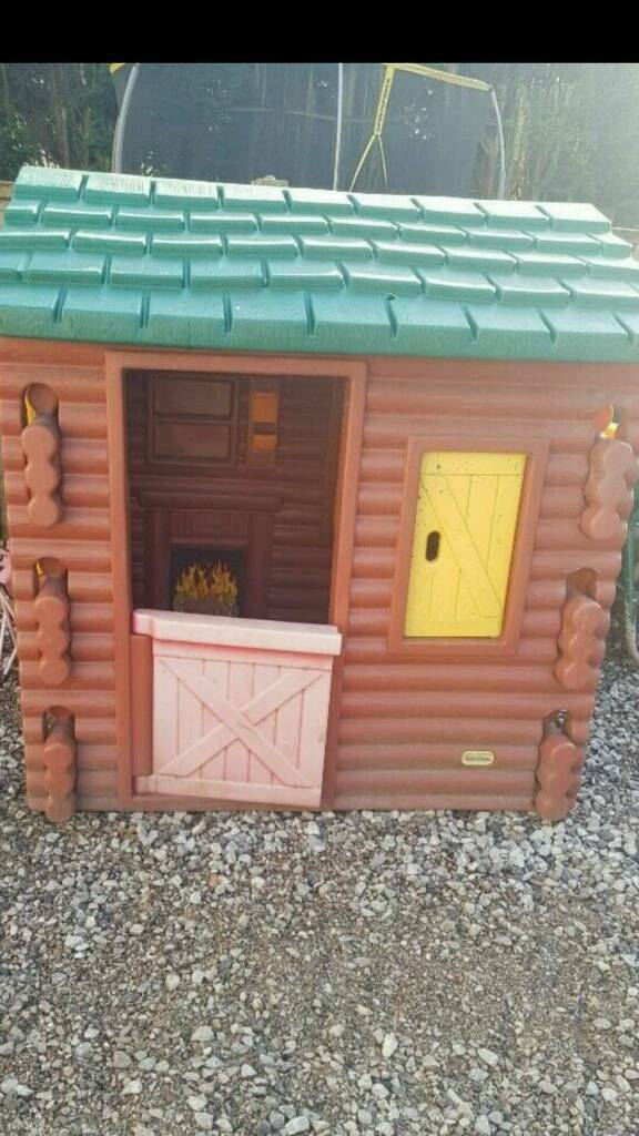 Little Tikes Log Cabin Playhouse In Stockport Manchester Gumtree