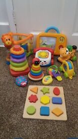 Kids baby toys bundle suitable for 12 mnth+