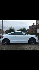 White Audi TT Quattro excellent condition women owner