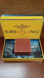 Breitling presentation box and watch box used