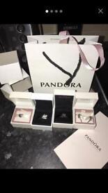 Pandora set boxed and gift bag