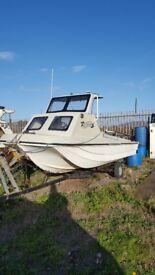 17ft Dory Fishing Boat