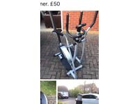 Hardly used cross trainer bought for £100 now £50