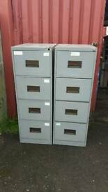 Metal 4 Drawer Filing Cabinets