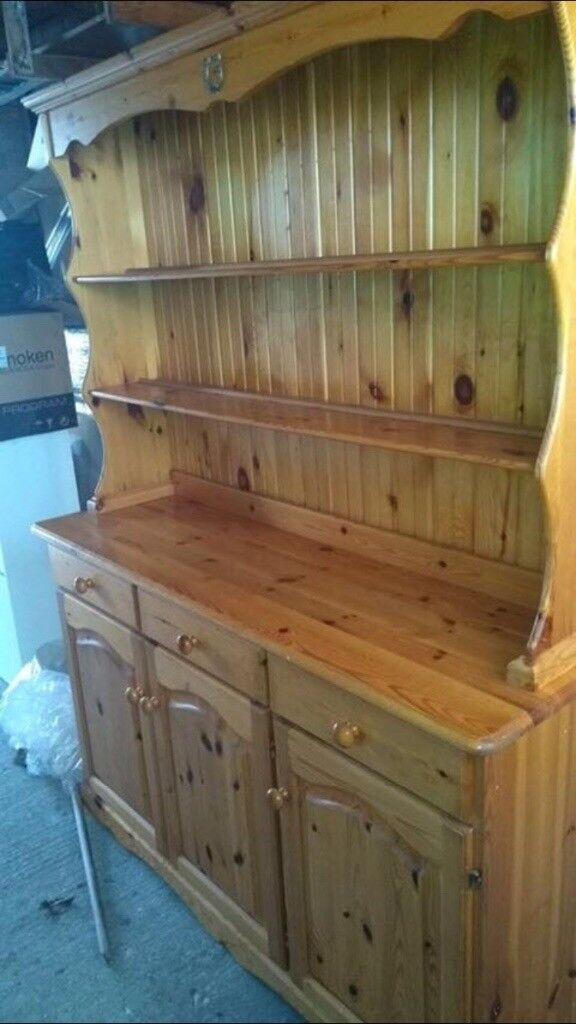 Solid pine sideboard dresser