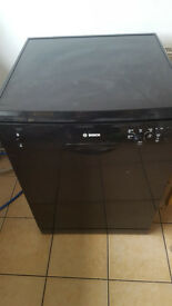 BOSCH dishwasher, black SMS50T06GB/09