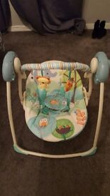 Bright starts baby swing excellent condition