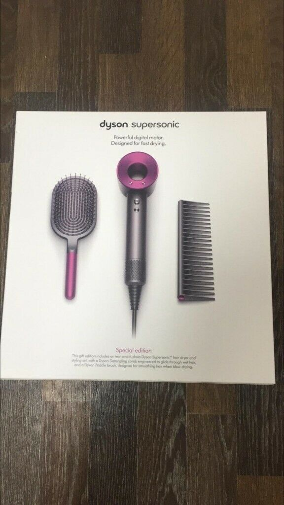 DYSON SUPERSONIC HAIRDRYER SPECIAL EDITION