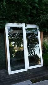 2 Glass Doors