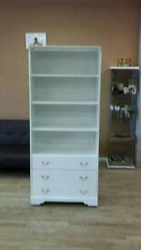 Display cabinet - white