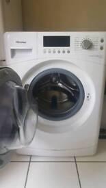 9kg Hisense Washing Machine - basically new