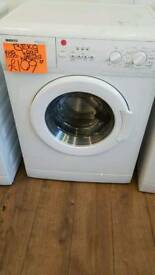 BEKO 6KGLOAD 1100 SPIN WASHING MACHINE IN WHITE