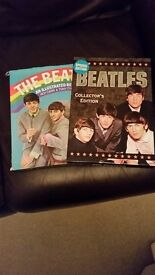 BEATLES BOOK AND BRAND NEW COLLECTORS SET