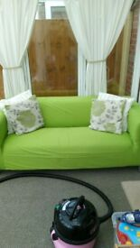 Lovely bright sofa