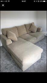 Gorgeous Next corner sofa